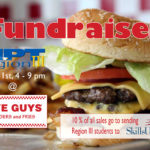 Fundaiser at 5 Guys Burger and Fries May 31st, 4-9 pm
